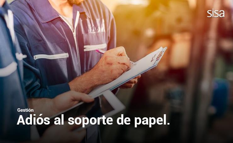 Adiós al soporte de papel para el registro del trabajo